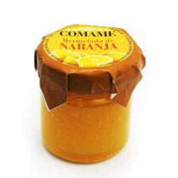 Mermelada de pétalos de naranja