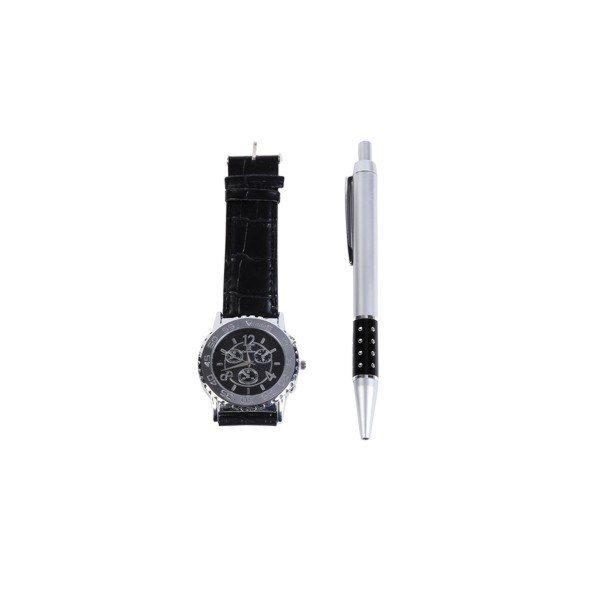 Reloj Bostón + bolígrafo